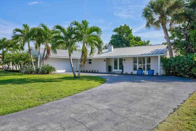 Singer Island Single Family Home For Sale: 1091 Bimini Lane