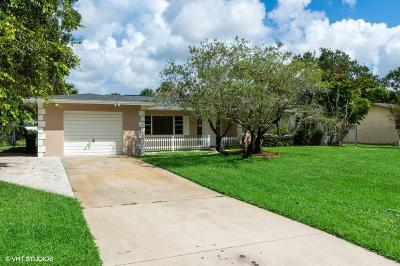 Fort Pierce Single Family Home For Sale: 7508 Pensacola Road