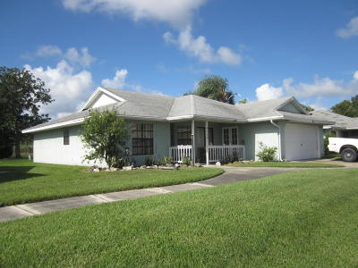 Okeechobee Single Family Home For Sale: 4964 SE 44th Street
