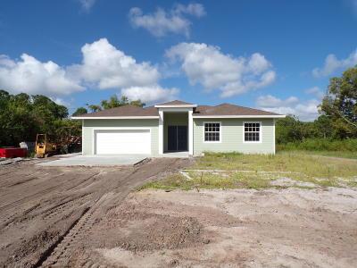 Jupiter Single Family Home For Sale: 17327 127 Drive