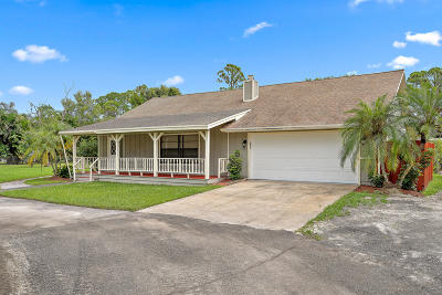 Jupiter Single Family Home For Sale: 16890 Mellen Lane