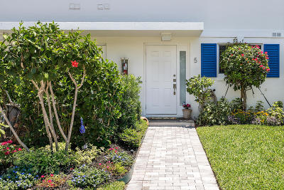 Delray Beach Townhouse For Sale: 130 Andrews Avenue #5