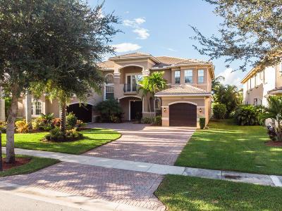 Boynton Beach Single Family Home For Sale: 10862 Canyon Bay Lane