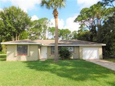 Vero Beach Single Family Home For Sale: 1866 21st Place SW