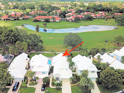 Palm Beach Gardens Single Family Home Contingent: 28 Windsor Lane