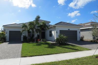 Boynton Beach Single Family Home For Sale: 12909 Big Bear Bluff