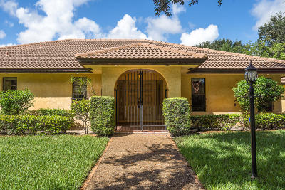 Boca Raton Single Family Home For Sale: 6554 Timber Lane