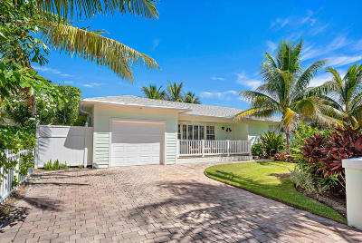 Palm Beach Shores Single Family Home For Sale: 215 Inlet Way