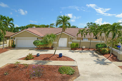 Boca Raton Single Family Home For Sale: 17748 Briar Patch Trail