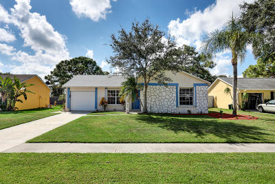 Jupiter Single Family Home For Sale: 115 Lakeside Circle