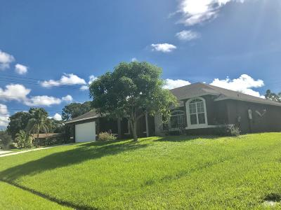 St Lucie County Single Family Home For Sale: 2001 SW Catalina Terrace