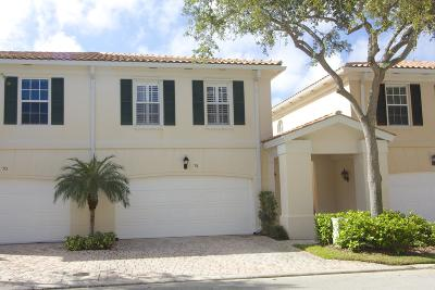 Tequesta Townhouse Contingent: 74 Tall Oaks Circle