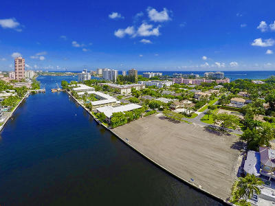 Boca Raton Residential Lots & Land For Sale: 1101 Spanish River Road