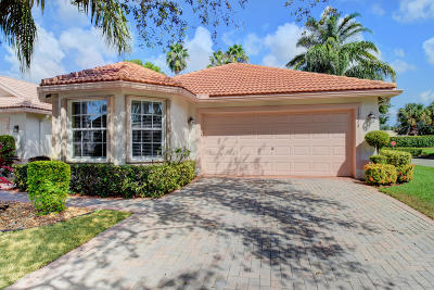Delray Beach Single Family Home For Sale: 13224 La Sabina Drive