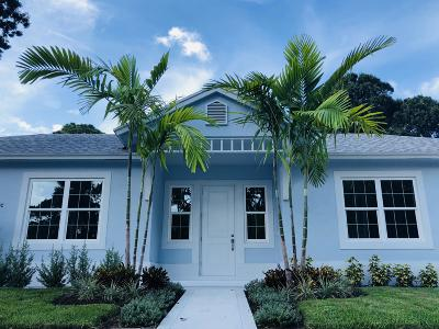 Jupiter Single Family Home For Sale: 417 Hugh Street