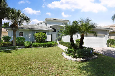 Boynton Beach Single Family Home For Sale: 6998 Great Falls Circle