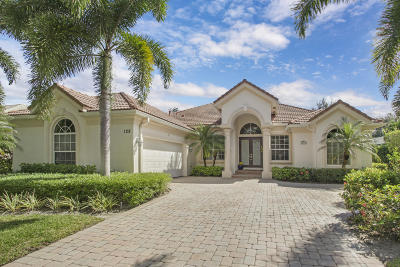 Jupiter Single Family Home For Sale: 128 Mystic Lane