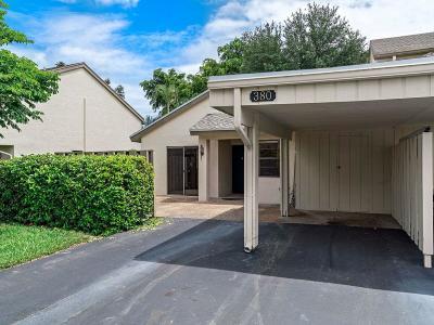 Deerfield Beach Single Family Home For Sale: 380 Deer Creek Wildwood Lane