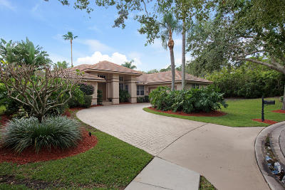 Jupiter Single Family Home For Sale: 126 Still Lake Drive