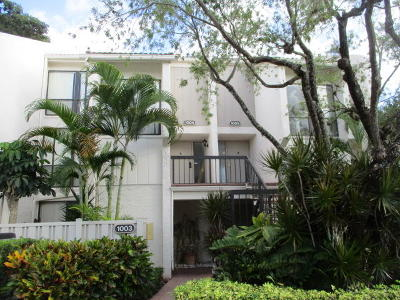 Boca Raton Townhouse For Sale: 1005 Bridgewood Place