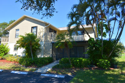 Hobe Sound Townhouse For Sale: 7352 SE Jamestown Terrace