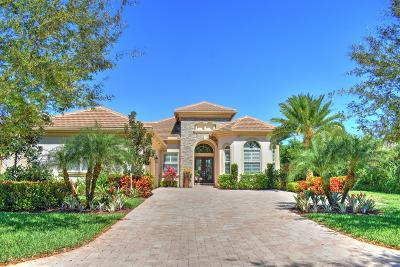 Hobe Sound Single Family Home For Sale: 6251 SE Moss Ridge Pointe