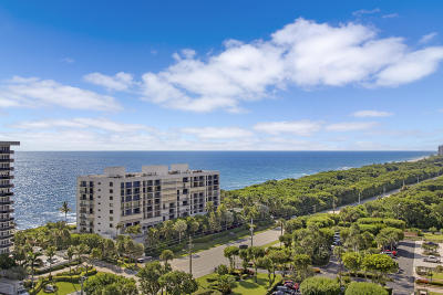 Boca Towers Condo For Sale: 2121 Ocean Boulevard #Lph 1603
