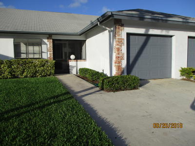 Jupiter Single Family Home For Sale: 182 Moccasin Trail