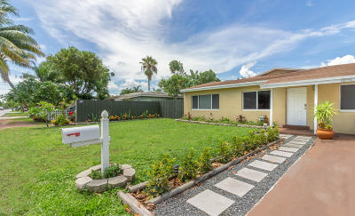 Fort Lauderdale Single Family Home For Sale: 1815 NW 7 Avenue