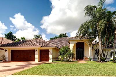 Boca Raton Single Family Home For Sale: 10385 Milburn Lane