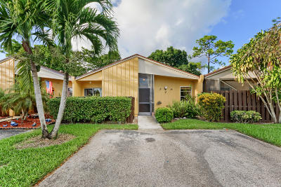 Boca Raton Single Family Home For Sale: 11669 Timbers Way