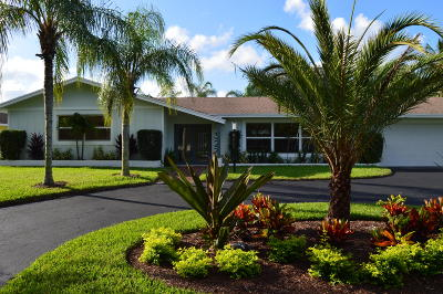 Tequesta Single Family Home Contingent: 327 Country Club Drive