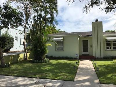 West Palm Beach Single Family Home For Sale: 840 Kanuga Drive #1