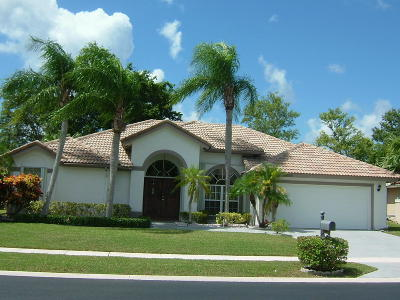 Boca Raton Single Family Home For Sale: 20356 Hacienda Court