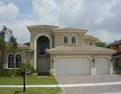 Royal Palm Beach Single Family Home For Sale: 8729 Wellington View Drive