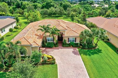 Palm Beach Gardens Single Family Home For Sale: 7888 Arbor Crest Way