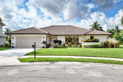 Boca Raton Single Family Home For Sale: 22017 Aqua Court