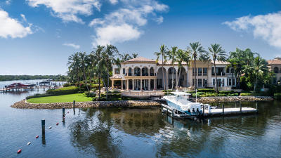 Jupiter FL Single Family Home For Sale: $12,900,000