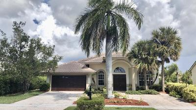 Boca Raton Single Family Home For Sale: 19591 Dinner Key Dr Drive