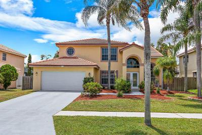 Boynton Beach Single Family Home For Sale: 8893 Jaspers Drive