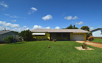 Jensen Beach Single Family Home For Sale: 3378 NE Jeannette Drive