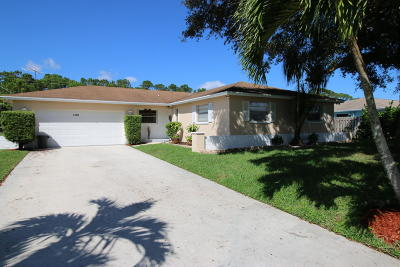 Lake Worth, Lakeworth Single Family Home For Sale: 7149 Oakmont Drive Drive