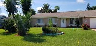 Vero Beach Single Family Home For Sale: 845 23rd Pl SW