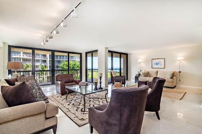 Palm Beach Condo For Sale: 3440 S Ocean Boulevard #204n