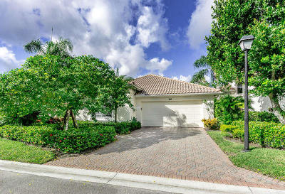 Palm Beach Gardens Single Family Home For Sale: 1011 Diamond Head Way