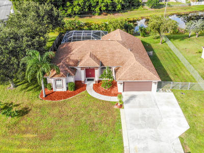 Port Saint Lucie Single Family Home Contingent: 5200 NW Edgarton Terrace