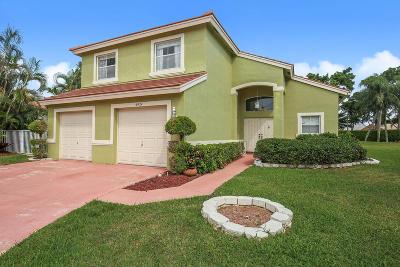 Lake Worth, Lakeworth Single Family Home Contingent: 6424 Grand Cypress Circle