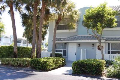 Boca Raton Townhouse For Sale: 1076 E Jeffery Street