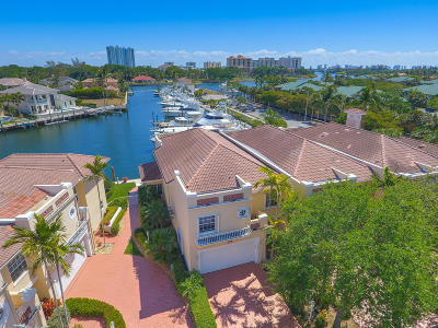 North Palm Beach Townhouse For Sale: 2233 Monet Road