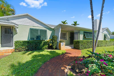 Lake Worth Single Family Home For Sale: 338 Princeton Drive